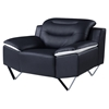 Karen Chair, Black Leather