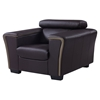 Mikayla Chair with Headrest Function, Chocolate/Dark Cappuccino