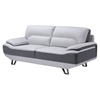 Jasmin Natalie Light Gray/Dark Gray Sofa