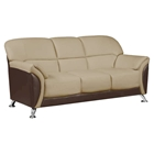 Maxwell Sofa, Cappuccino/Chocolate