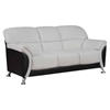 Maxwell Sofa - Light Gray/Black