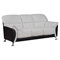 Maxwell Sofa Set in Light Gray/Black - GLO-U9103-GR-BL-SET