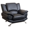 Jesus Chair in Black Leather