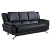 Jesus Leather Sofa, Black