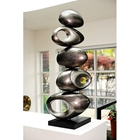 Rock Five Ball Modern Sculpture