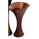 Morning Glory Chocolate Short Vase