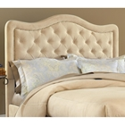 Trieste Tufted Fabric Headboard - Buckwheat