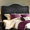 Trieste Tufted Fabric Headboard in Pewter