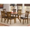 Arbor Hill 7 Piece Expansion Wood Dining Set - HILL-4232DTBC7