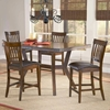 Arbor Hill 5 Piece Expansion Wood Counter Set