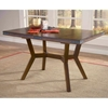 Arbor Hill Wood Dining Table with Butterfly Leaf