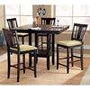 Arcadia Espresso Counter Height Dining Set