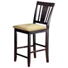 Arcadia Espresso Non-Swivel Counter Stool