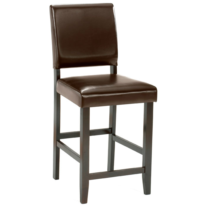 Arcadia Espresso Non-Swivel Parson Counter Stool