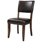 Cameron Brown Parson Dining Chair (Set of 2)