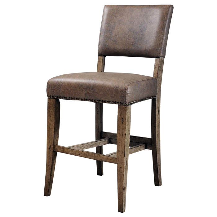 Charleston Parson Non-Swivel Counter Stool