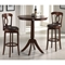 Corsica Swivel Counter Stool in Brown - HILL-4166-828