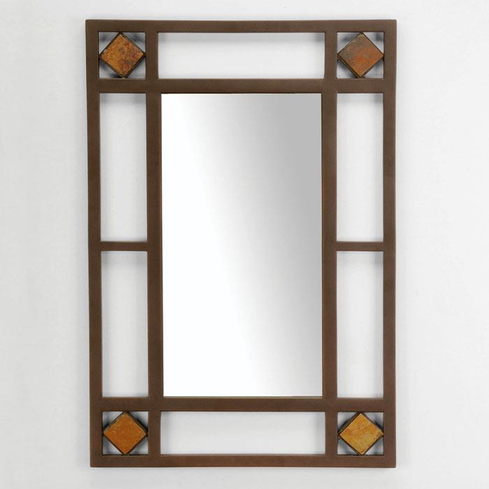 Lakeview Metal Frame Console Mirror - HILL-4264-886
