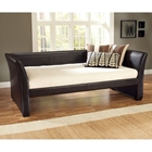 Malibu Brown Leather Daybed