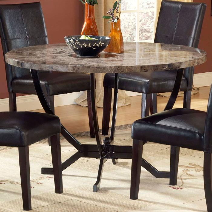 Monaco Round Dining Table - HILL-4142DTB