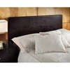 Springfield Upholstered Brown Headboard with Frame