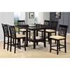 Tabacon 7 Piece Counter Set in Dark Cappuccino