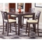 Tiburon 5 Piece Counter Height Dining Set in Espresso - HILL-4917DTBSG