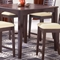 Tiburon Espresso Square Counter Table - HILL-4917-818