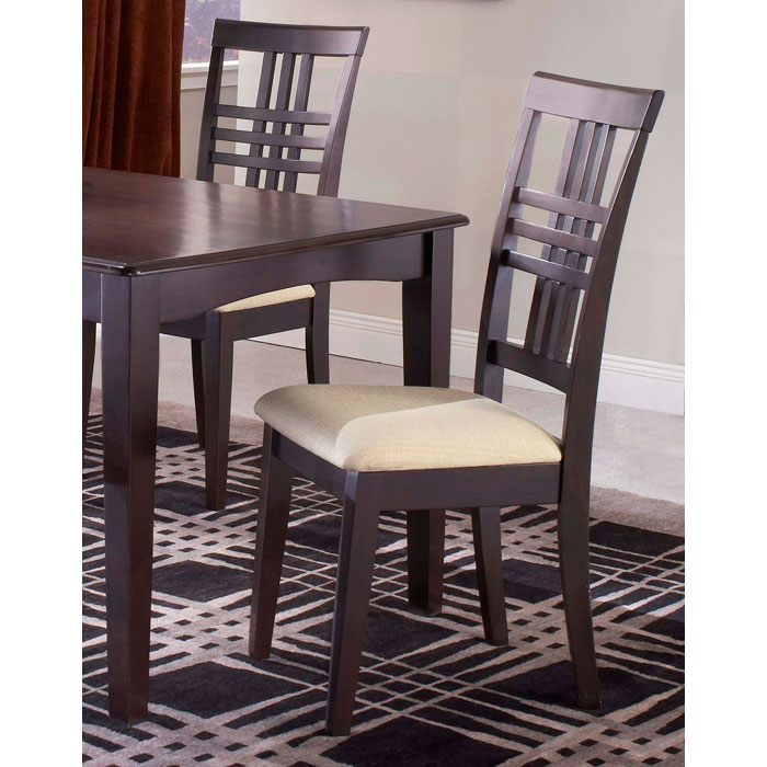 Tiburon Espresso Side Chairs