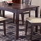 Tiburon Espresso Rectangle Dining Table - HILL-4917-814