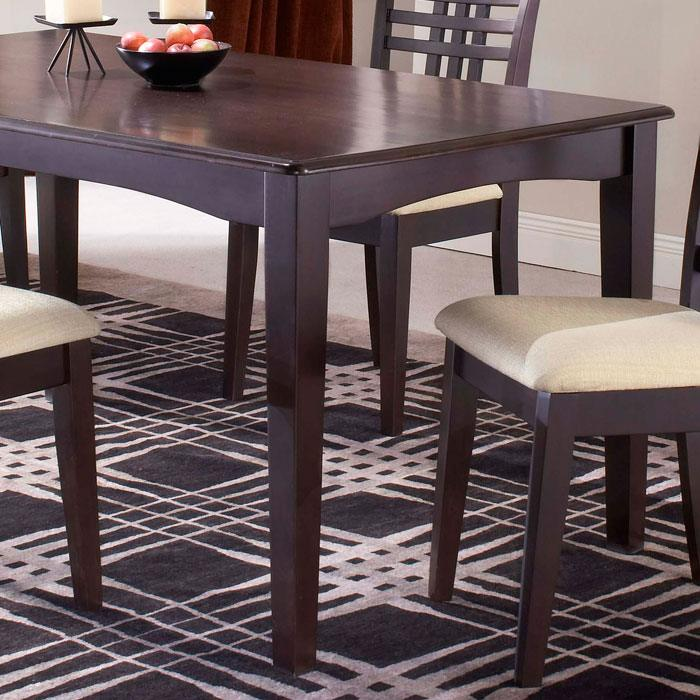 Tiburon Espresso Rectangle Dining Table