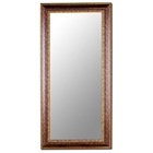 Adelina Gold Oxford Scroll Bevel Mirror - Made in USA