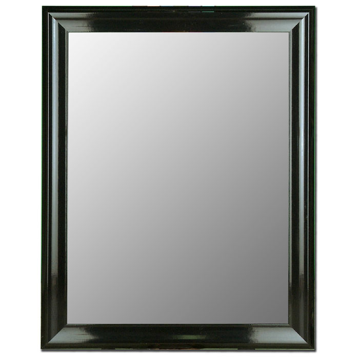 Arundel Black Grande Mirror - Made in USA