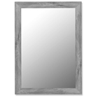 Flavius Weathered Grey Frame Mirror - Made in USA