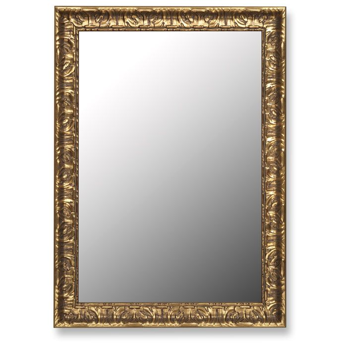 Kylie Elegant Mirror with Mayan Gold Frame - Made in USA