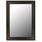 Tiberius Rectangular Mirror in Ceylon Black - Made in USA