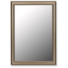 Queenscliff Grecian Beaded Silver Frame Mirror - Made in USA