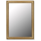 Petersham Grecian Beaded Gold Frame Mirror - Made in USA