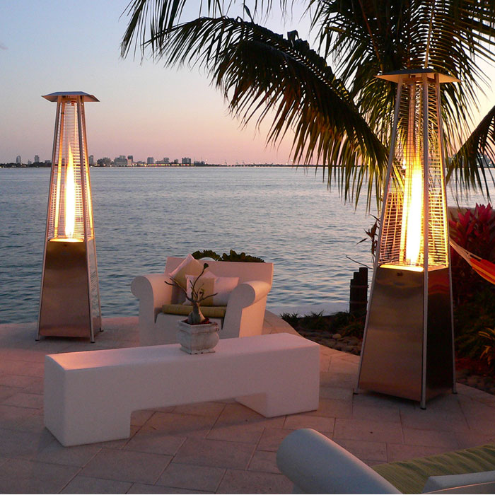Bonfire Flame Patio Heater with Propane Gas Burner - INF-11300