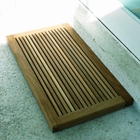 Greenface Reclaimed Teak Doormat in Natural Finish
