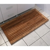 Greenface Rectangle Reclaimed Teak Mat in Natural Finish