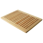 Le Spa Teak Floor Mat with Rounded Corners