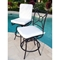 Comfort Care Swivel Counter Stool with Cushions (Set of 2) - INF-11638