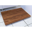 Le Spa Dark Teak Floor and Shower Mat