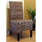 Manila Abaca Dining Chair - High Back