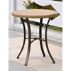Barcelona Round Bistro Table - Honey Wicker