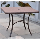 Barcelona Square Outdoor Dining Table - Wicker
