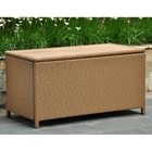Barcelona Outdoor Trunk / Coffee Table - Honey Wicker
