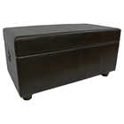 Marvin Dark Chocolate Storage Bench / Trunk