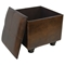 Rearden Brown Square Ottoman with Lid - INTC-YWLF-2188-BR